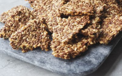 Flaxseed Cracker Recipe (Only 5 Ingredients!)