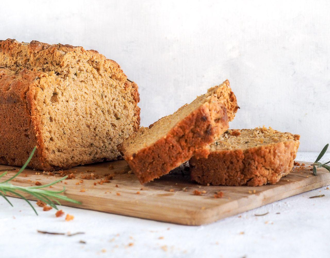 Rosemary Garlic Beer Bread
