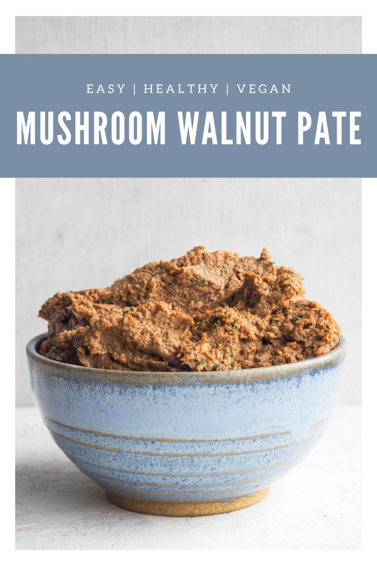 mushroom walnut pate